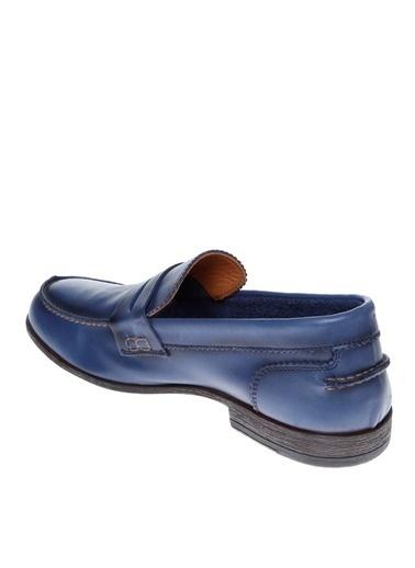 Fabrika Loafer Ayakkabı Mavi